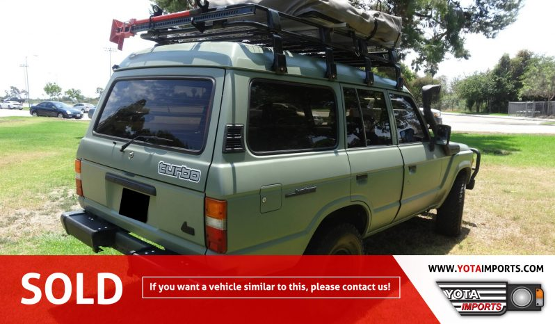 1987 Toyota Land Cruiser – HJ61 #02915D61BLC full