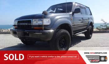 1990 Toyota Land Cruiser – HDJ81 #02915D81LC full