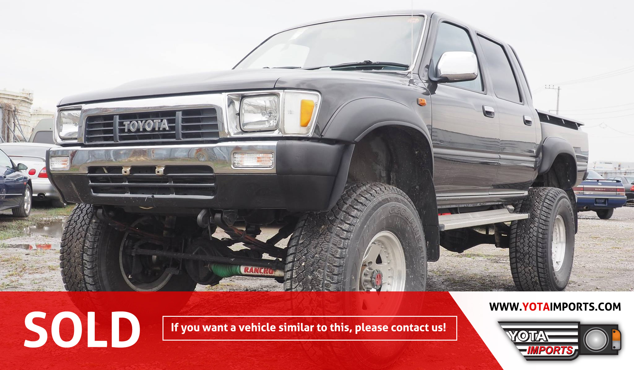 1989 toyota hilux double cab truck #02915dhl01 – yota imports