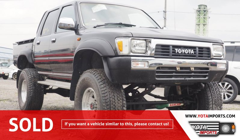 1989 Toyota Hilux Double Cab Truck #02915DHL01 full