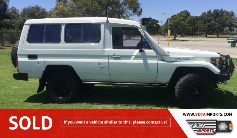 "1991 Toyota Land Cruiser Troop Carrier ""Troopy"" – HJ75 #02915A00LC full"