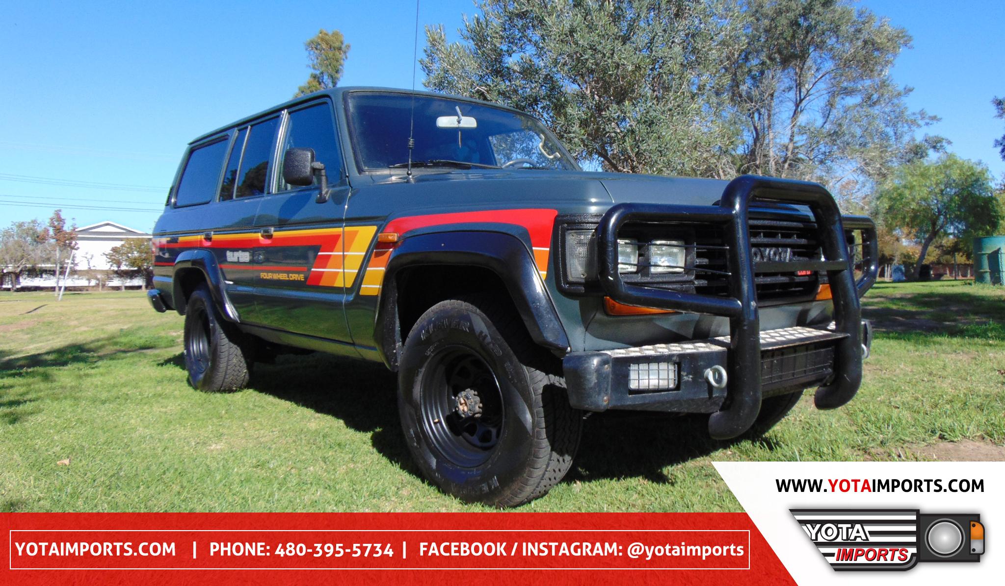 1988 Toyota Land Cruiser U2013 HJ61 #020161201A