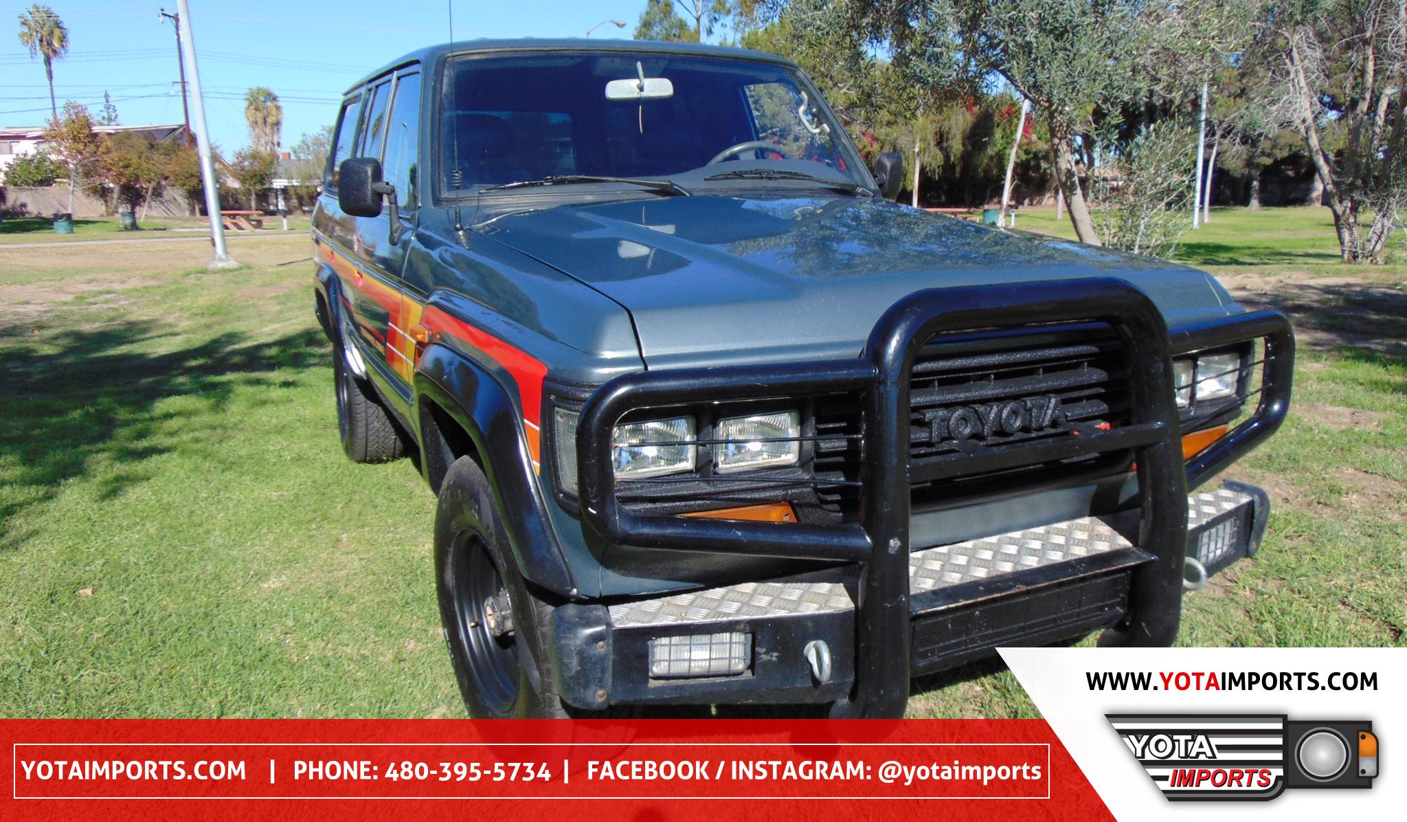 1988 Toyota Land Cruiser Hj61 020161201a Yota Imports