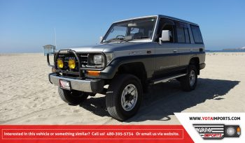 1991 Land Cruiser Prado – LJ78 full