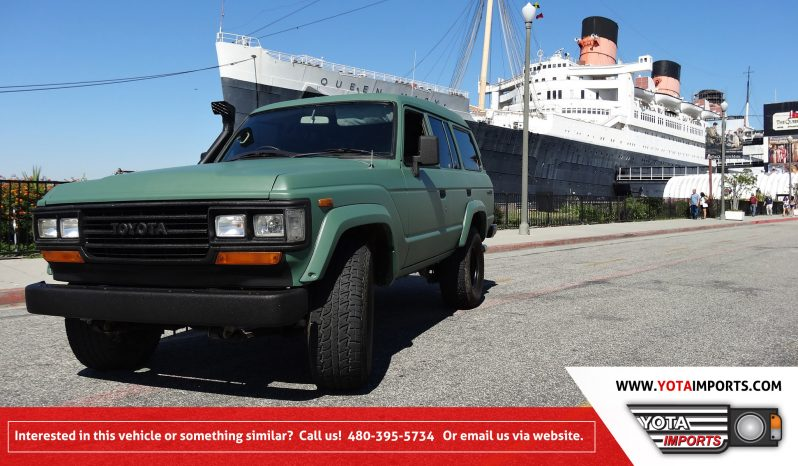 1987 Toyota Land Cruiser – HJ61 full