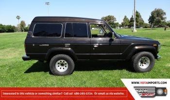 1988 Toyota Land Cruiser – HJ61 Turbo Diesel full