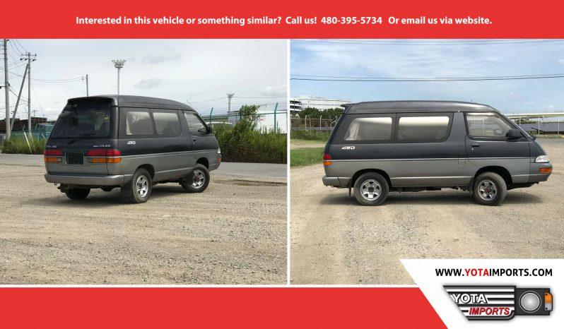 1992 Toyota Liteace Wagon / Van full
