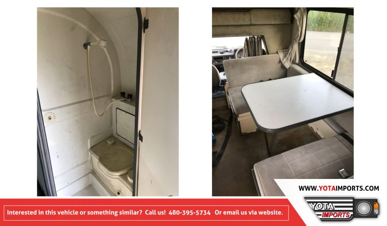1991 Toyota Town Ace 4WD Camper Van full