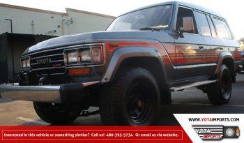 1988 Toyota Land Cruiser – HJ61 full