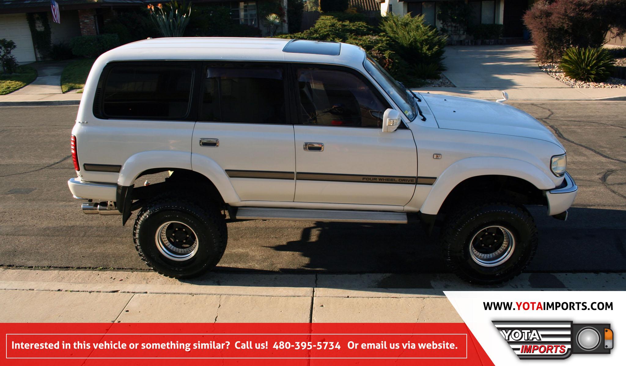 1992 Toyota Land Cruiser – HDJ81 Turbo Diesel – Yota Imports
