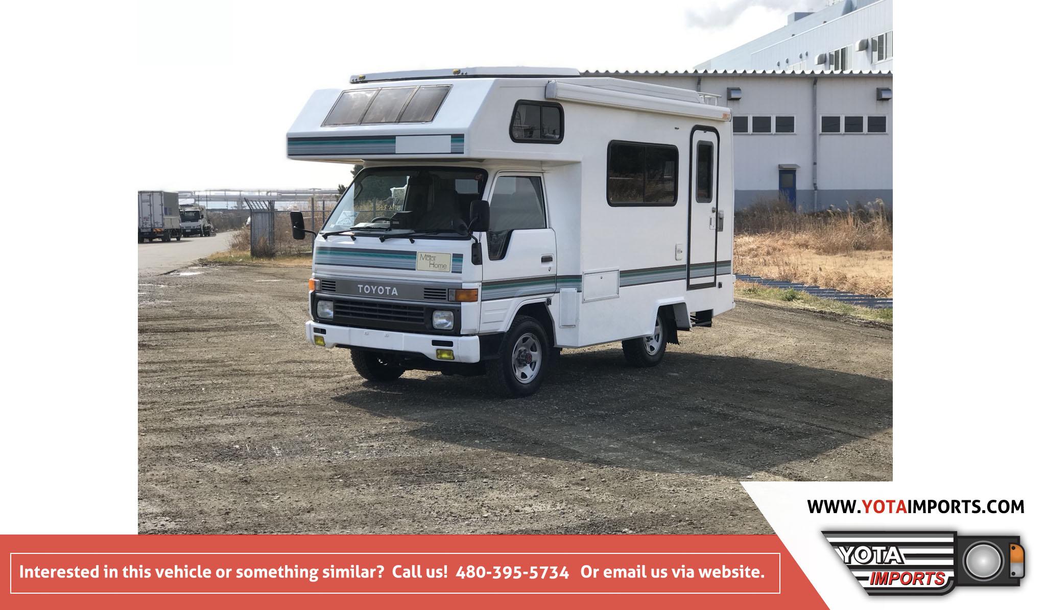 1993 Toyota HiAce Truck Camper – Yota Imports