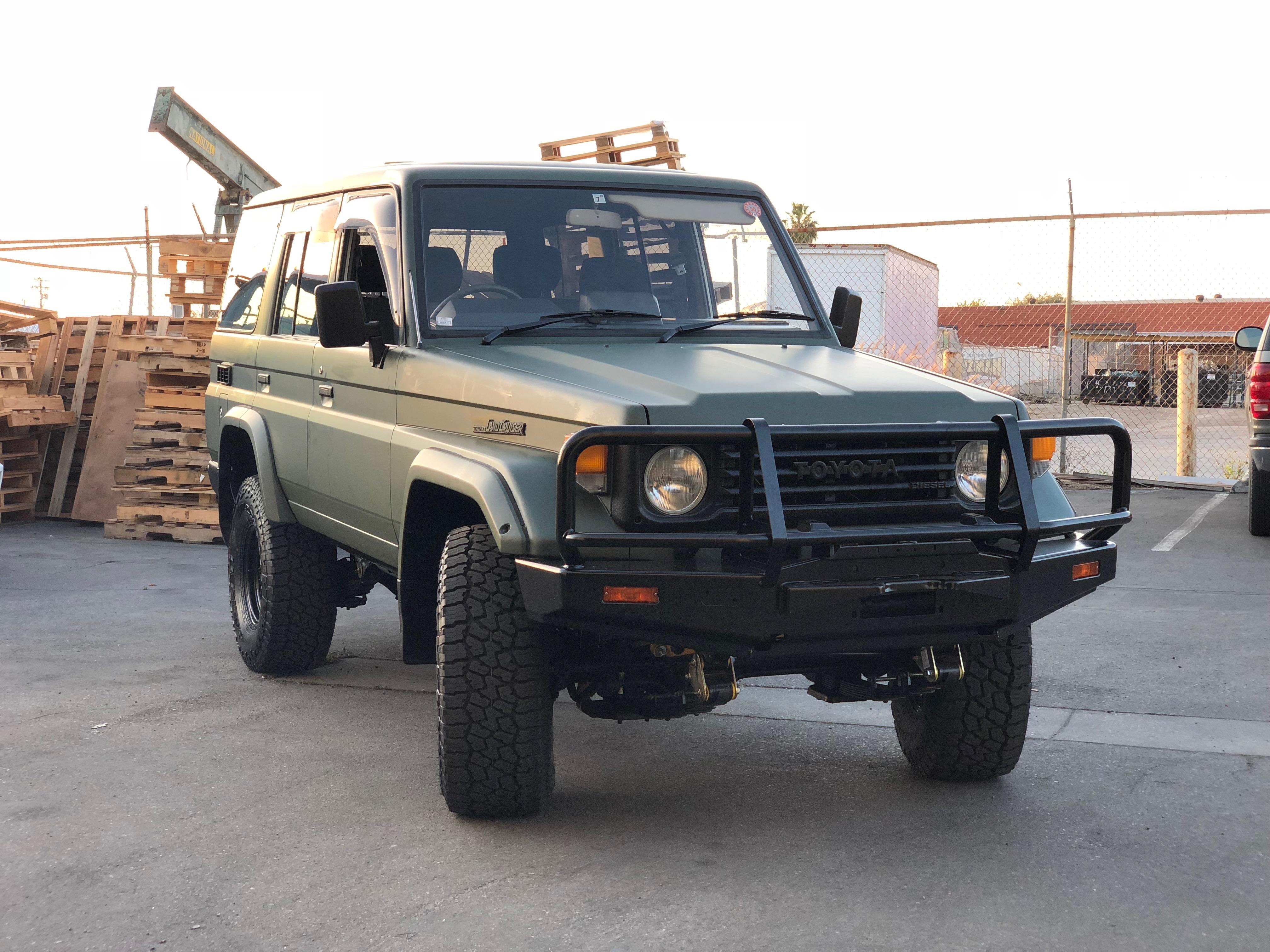 1991 Toyota Land Cruiser Hzj77 Yota Imports 1960 77 Full