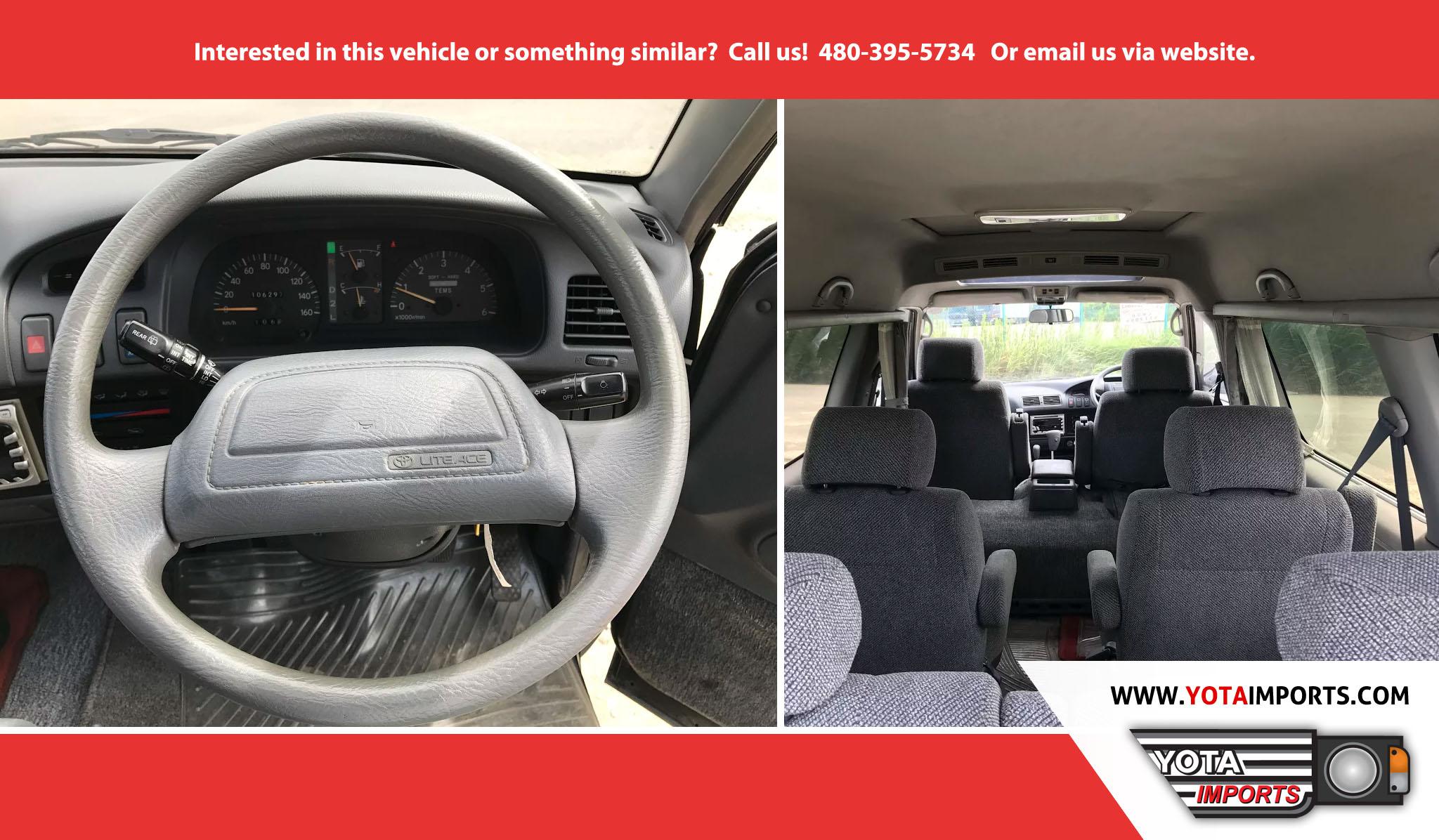 Toyota Pay By Phone >> 1992 Toyota Liteace Wagon / Van – Yota Imports